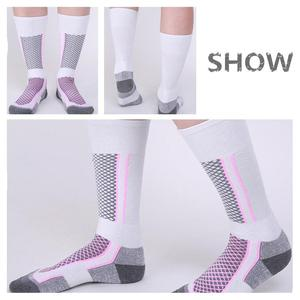 Image 2 - Mounchain Women/Man Winter Ski Snow Sports Socks Thermal Long Ski Snow Walking Hiking Sports Towel Socks free size