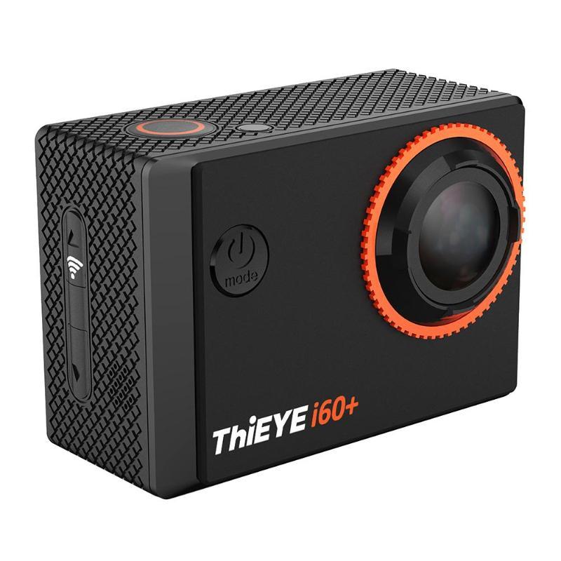 ThiEYE i60 + 4 K 30fps WiFi 40 M enregistrement vidéo étanche caméra d'action sportive ThiEYE wi-fi Action Cam i60 + est un compact étanche