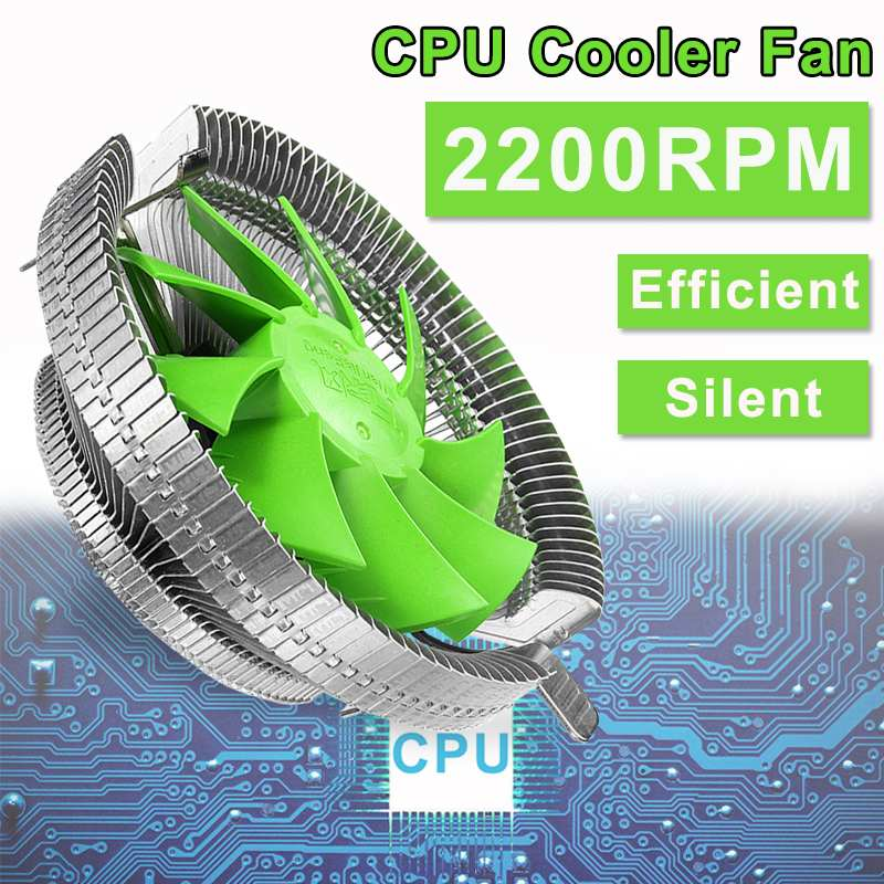 Silent CPU Cooler Heatpipe Cooling Fan 12cm Radiator Aluminum Heatsink Intel LGA 775/1366/115X AMD AM3+/AM3/AM2+/AM2/940/939/754