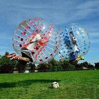 Free Shipping 1.2m 1.5m 1.7m Human Inflatable Bubble Soccer Ball Inflatable Bumper Ball Inflatable Zorb Ball Bubble Football TPU