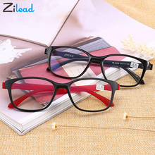 Zilead Anti Blue Rays Reading Glasses Relieve Visual Fatigue Presbyopic TR90 Materia Ultralight Style Parents Eyeglasses