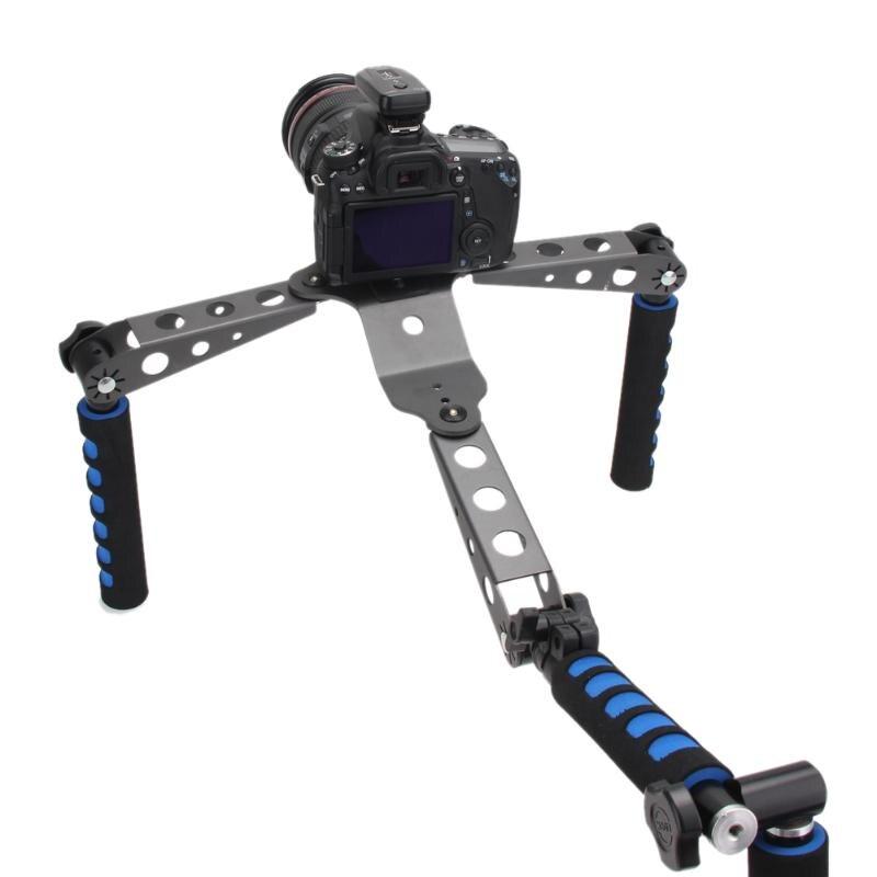 Système de réalisation de reflex numériques stabilisateur de stabilisation à épaulement pour Canon 5D Nikon 4D Sony Panasonic appareils photo et caméscopes reflex numériques