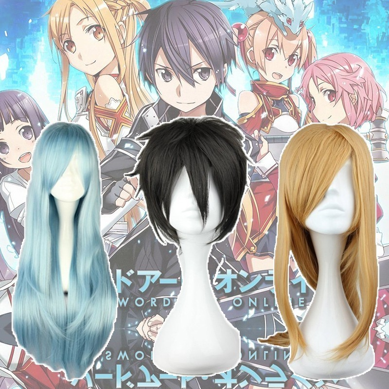 Identity V Sword Art Online Shino Cosplay Kirito Asuna Lisbeth Costume Leafa Wig Accessories Cosplay Props Halloween Ruby Rose