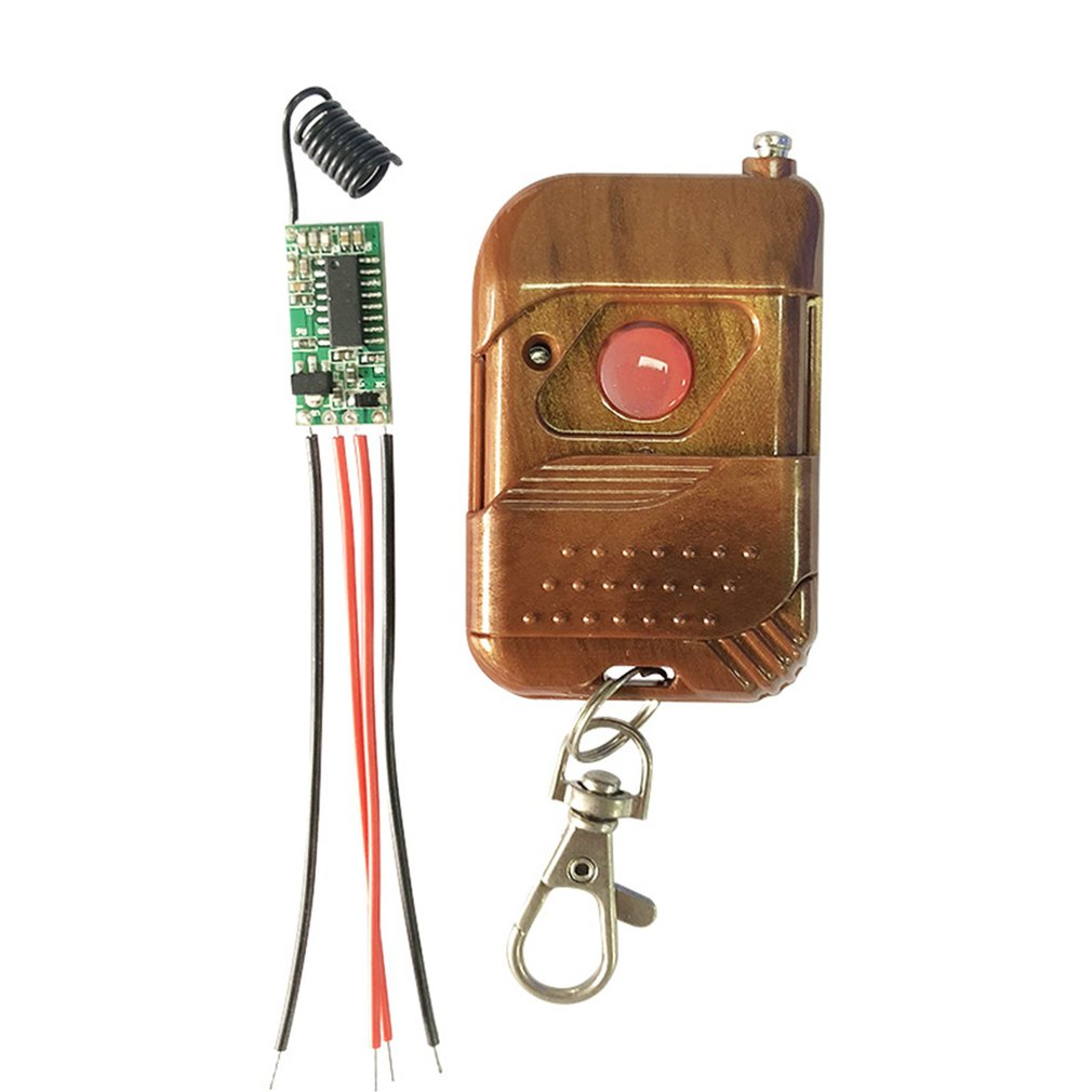 Remote Control Light Modification Module With Decoding 3.6-24v Wireless Receiving And Transmitting Single Line Switch SettingRemote Control Light Modification Module With Decoding 3.6-24v Wireless Receiving And Transmitting Single Line Switch Setting