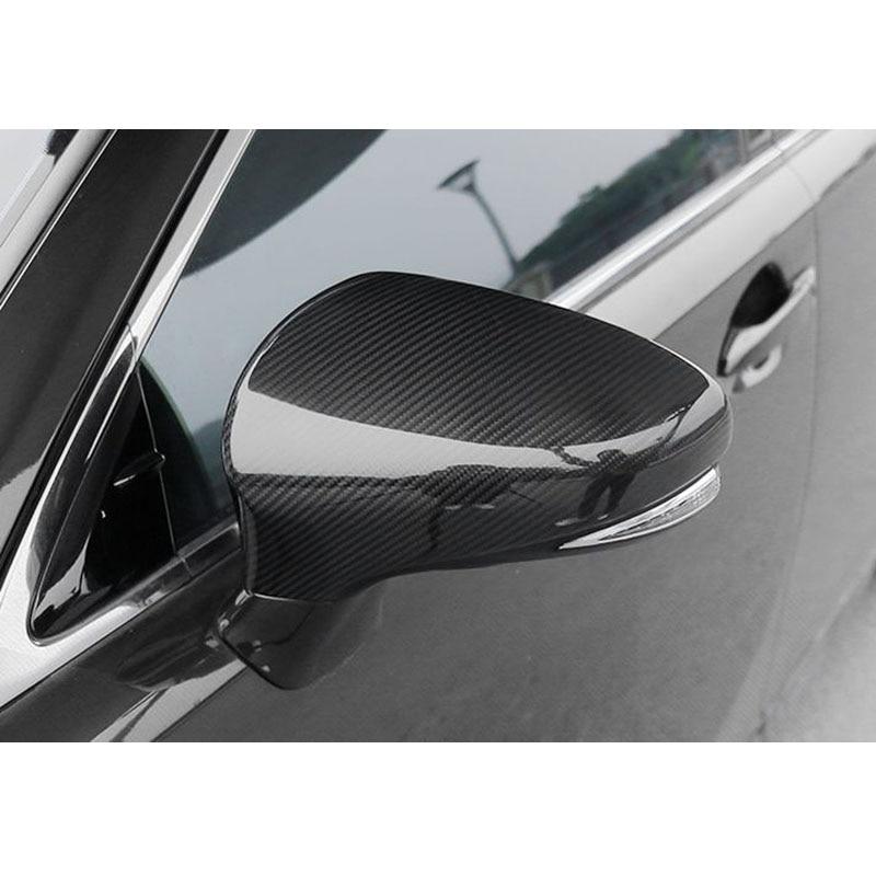 Car Carbon Fiber Front Armrest Handle Cover Trim Fit For Lexus IS250 IS300