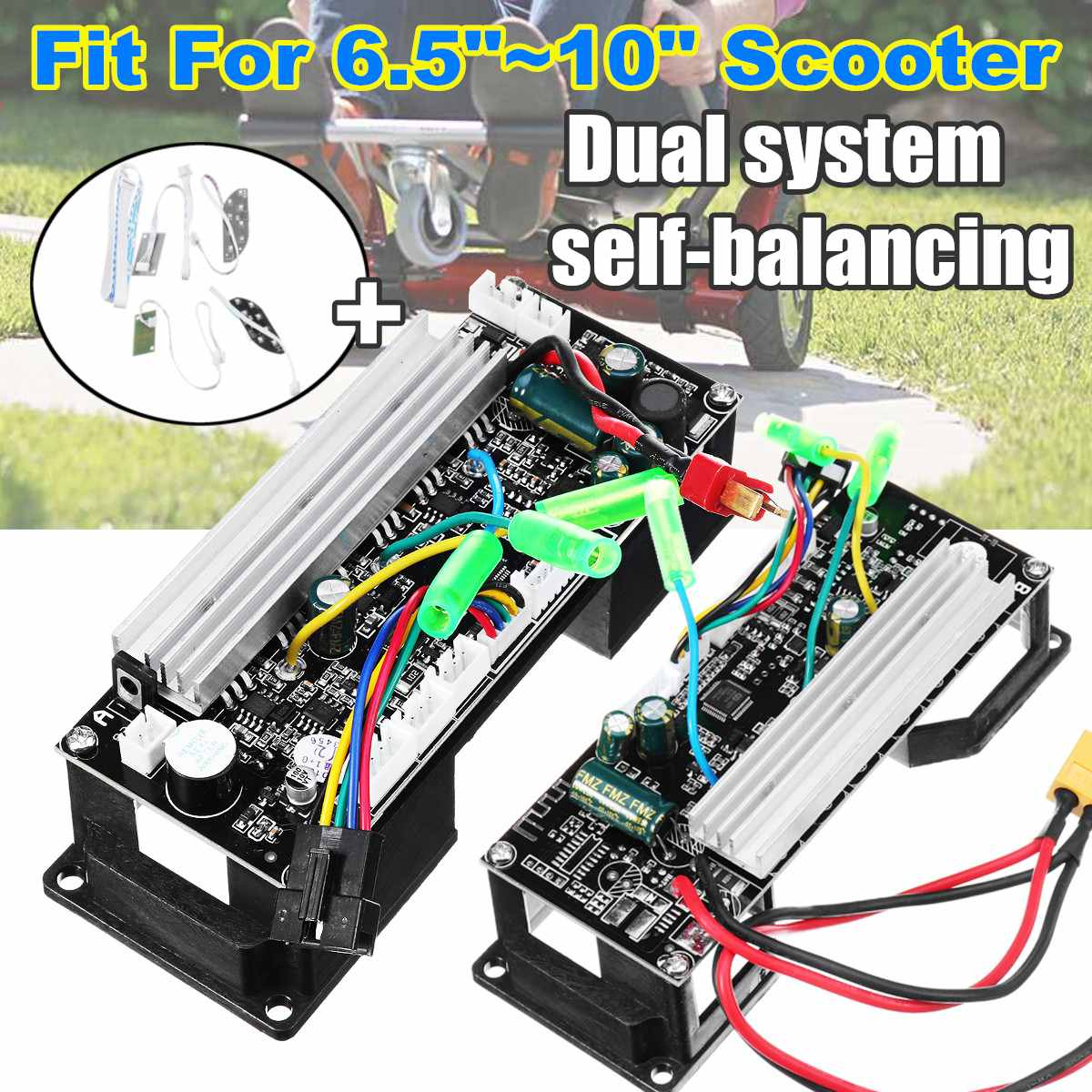 Remote Control font b Motherboard b font Main Circuit Board Cable Switch Balance DIY Scooter Repair