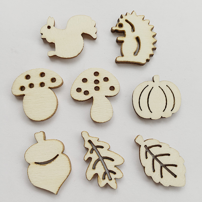 Wooden MDF Hearts With or Without Holes Craft Cards Decorations Scrapmaking