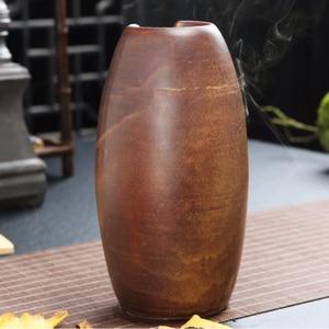 Image 4 - Fumo Riflusso Bruciatore di Incenso di Ceramica Forno Aromaterapia Cono di Incenso Incenso Cascata Fiume di Montagna Artigianato Possessore di Incenso