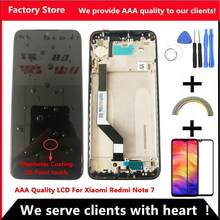 10-Touch Original LCD For Xiaomi Redmi Note 7 LCD With Frame Display Screen Replacement For Redmi Note7 Pro LCD Display Screen(China)