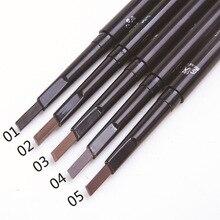 Автоматический Водостойкий карандаш для бровей, макияж, 5 цветов, карандаш для бровей, косметика для бровей, инструменты для подводки глаз