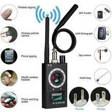 K18 Multi-funktion Anti Detektor Kamera GSM Audio Bug Finder GPS Signal Objektiv RF Tracker Erkennen Drahtlose Produkte 1MHz-6,5 GHz r60