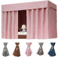 5 סוגים דרגש מיטות בד בגוון וילון מעטפת מיטת כילה מעונות סטודנטים מעובה מיטת רשתות הצללת בד וילון המיטה