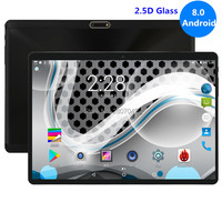2019 Version 10 inch tablet Android 8.0 Octa Core 4GB RAM 32GB ROM 8 Cores 1280X800 IPS 2.5D Glass Screen GPS Tablets 10.1 Pad