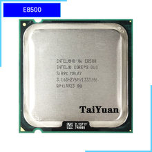 Intel Core 2 Duo E8500 3.1 GHz Dual-Core CPU Processor 6 M 65 W 1333 LGA 775(China)