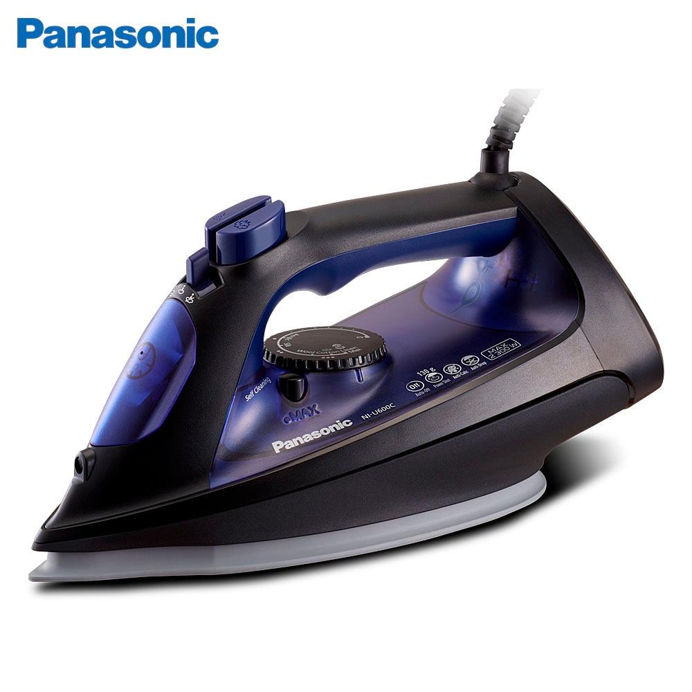 Electric Irons Panasonic NI-U600CATW iron ironing steam Household Appliances Laundry panasonic ni wt980ltw steam iron with ceramic nonstick soleplate electric steamer ironing machine household non stick baseplate