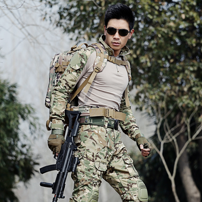 Tactical Camouflage Military Uniform Clothes Hunting Suit Men US Army Clothes Military Combat Shirt Cargo Pants