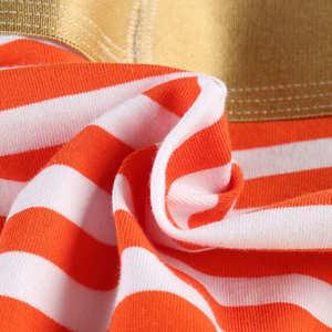 Image 4 - Calzoncillos con bolsa de bulto para hombre, ropa interior suave a rayas, Sexy, malla, transpirable, lote de 9 unidades