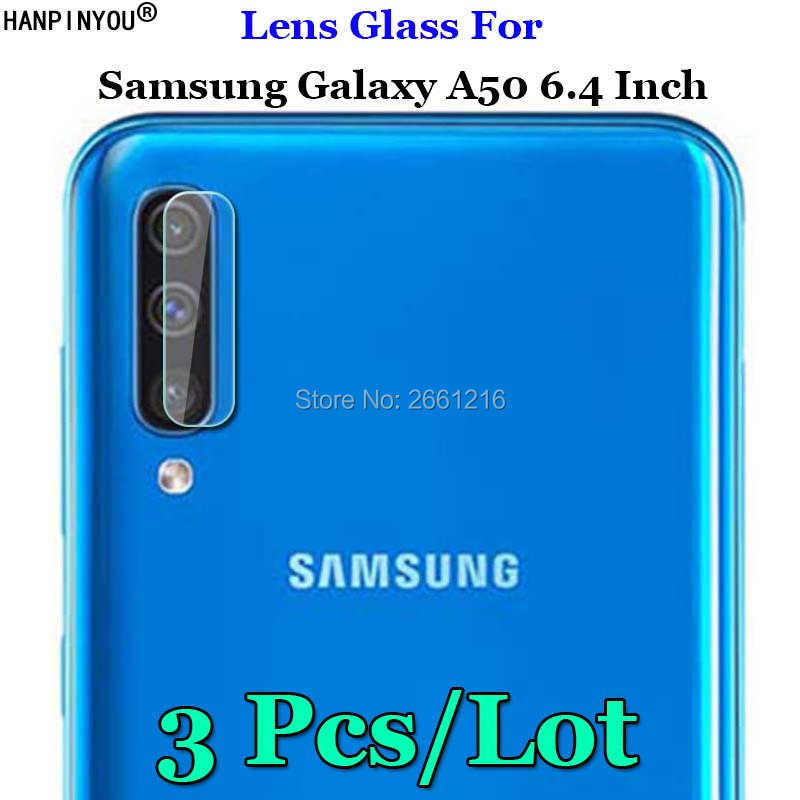 3 Pcs/Lot For Samsung Galaxy A50 6.4 Camera Lens Protector Clear Ultra Slim Rear Camera Lens Cover Tempered Glass Film3 Pcs/Lot For Samsung Galaxy A50 6.4 Camera Lens Protector Clear Ultra Slim Rear Camera Lens Cover Tempered Glass Film