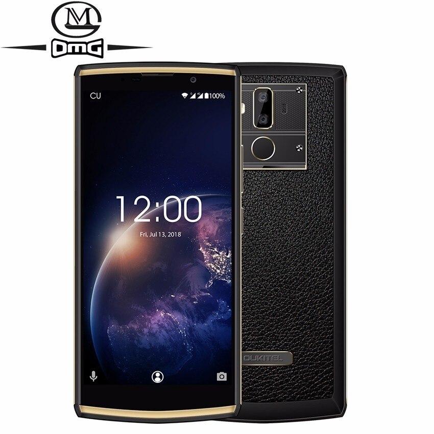 Oukitel K7 Puissance 10000 mah batterie mobile téléphone 18:9 Affichage 6.0 ''2 gb + 16 gb MT6750T Octa Core 13MP + 5MP D'empreintes Digitales 4g Smartphone