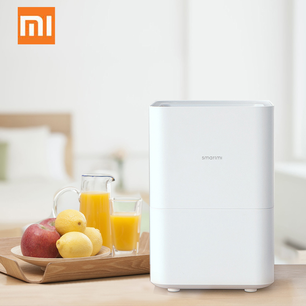 Xiaomi Smartmi Pure Air Humidifier With 4L Capacity Automatic Water Evaporation Mist Maker Essential Oil APP Control Home Office