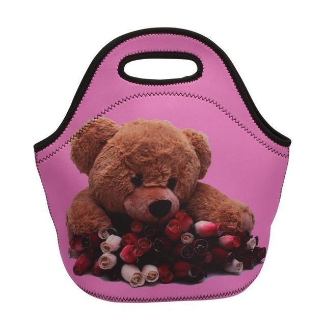 As New Material shown Bag Closure Zipper Insulation Tote Submersible Unisex the Lunch picture
