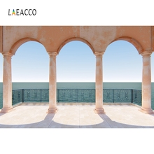 Laeacco Arch Door Archway Pillars Backdrop Photography Backgrounds Customized Photographic Backdrop For Photo Studio цена