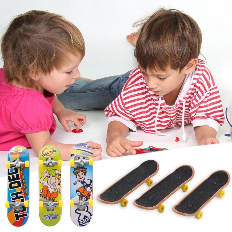 Plastic Finger Skateboard Fingerboard Toy Mountain Bikes Diecast  Toy Board Game Kids Educational Toys Children Novelty Gag Toy