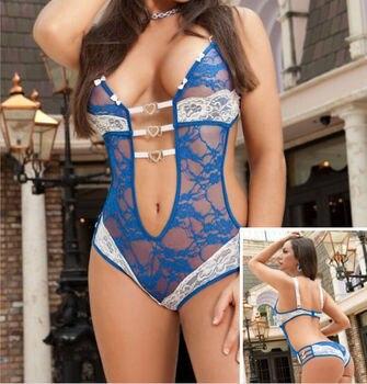 Newest Hot Lingerie Bodysuits Lace  3