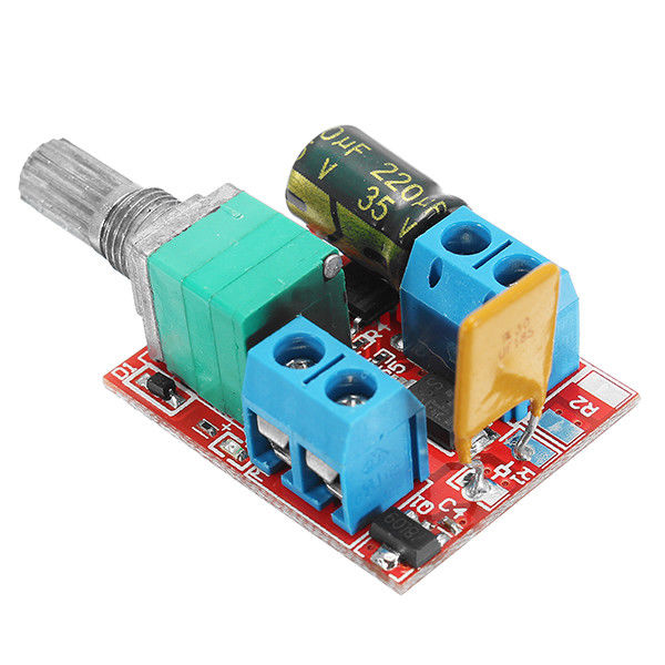 5V 30V DC PWM Speed Controller Mini Electrical Motor Control Switch LED Dimmer in Dimmers from Lights Lighting