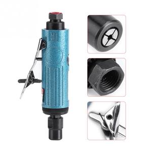 Image 4 - Pneumatic grinder carving tool pneumatic tool engraving polishing machine pneumatic mold grinder polijstmachine Sliver/Blauw