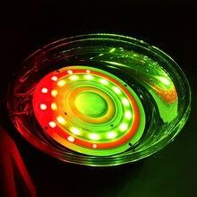 2 шт круглый мигающий свет truck led светильник красные синие