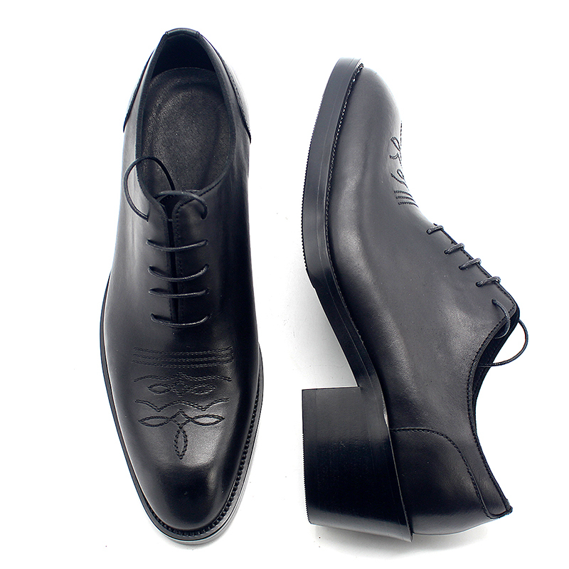 Oxfords Diseñador Encaje Formal Zapatos Moda 39 Los Euro Cuero Gran Negro Tacones 45 Tamaño Hombres Real De Negocios 8HRwfnft