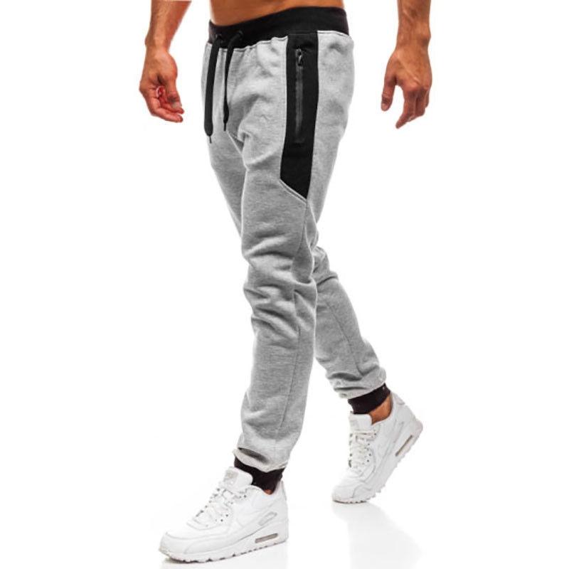 Men's Clothing Contemplative New Mens Slim Fit Urban Straight Leg Trousers Casual Pencil Jogger Cargo Pants Belt Adjustable Waist Casual Autumn Spring Cloth Casual Pants
