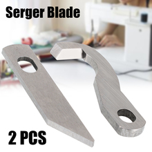 2pcs New Metal Blade Upper & Lower Cutter For Brother 929D 1034D XB0563001 X77683001 Sewing Machine Accessory