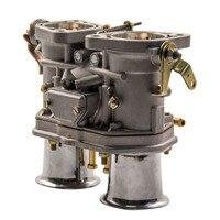 Механические дроссель 48IDF карбюраторы для мотоциклов + air horns Замена Fit Beetle VW Fiat ошибки/для Volkswagen/для Fiat/для Porsche