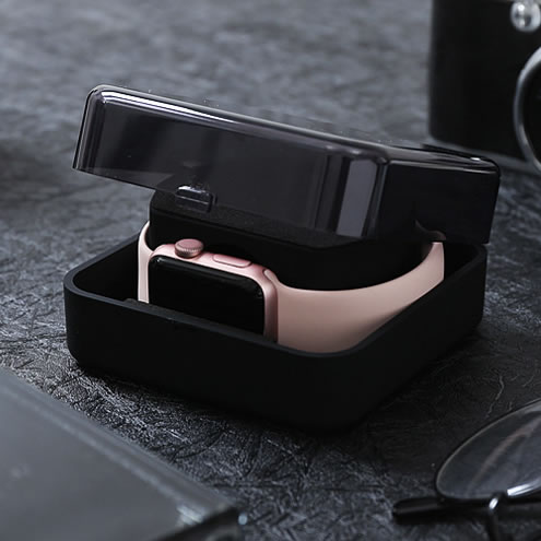 Caixa de Armazenamento Case para Apple Caixa de Carregamento Suporte para Apple 4 38mm 42mm 40mm 44mm Vers Carga Assistir Série Ver 1 – 2 3