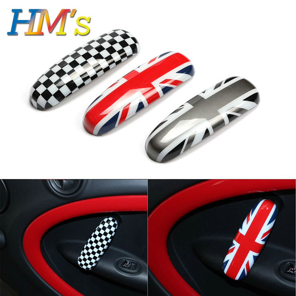 4PCS Car Interior Door Handle Covers Decoration For MINI Cooper R60 Countryman