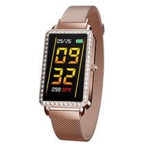 A88 Модные Смарт-часы для девочек с монитором сердечного ритма многофункциональные спортивные часы женские смарт-браслет для iPhone Xiaomi Phone