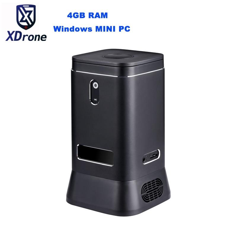 2019 Mobile Mini PC Windows 10 Home Pocket Mini Desktop PC Intel N4100 4GB RAM USB 3.0 2.0MP Camera MIC Speaker WIFI BOX HDMI