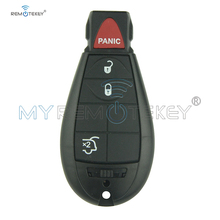 Remtekey #4 3 button with panic Keyless entry remote key fob Fobik for Chrysler Dodge Jeep M3N5WY783X 434mhz 2008 2009 2010 2011 2005 2011 ford five hundred 4 four button keyless entry remote free programming included