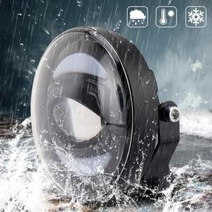 Image 5 - Новый Белый DRL 12 в 30 Вт внедорожный светодиодный противотуманный светильник для внедорожников, автомобилей, рыбалки, лодок, светильник ing