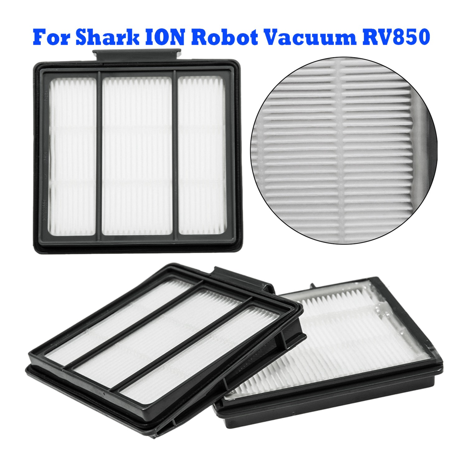 Constructive Vacuum Cleaner Hepa Filter Kit Replacement For Shark Ion Robot Vacuum Rv850 With Wlan To Clear Out Annoyance And Quench Thirst Home Appliance Parts Cleaning Appliance Parts