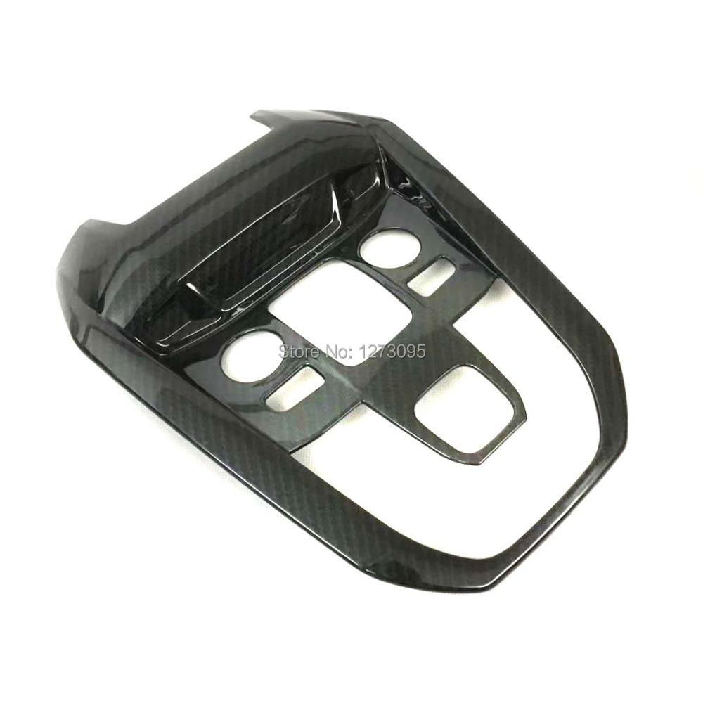 For Peugeot 5008 GT 2017 2018 ABS Interior Accessories Inner Reading Light Lamp Cover Frame Trim Car Styling Accessories for 2017 2018 jaguar xe x760 abs interior accessories front inner reading light lamp cover frame trim car styling accessory