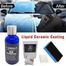 10 h revestimento automotivo cerâmico anti risco carro líquido nano revestimento cerâmico pintura selante proteção super revestimento de vidro polonês