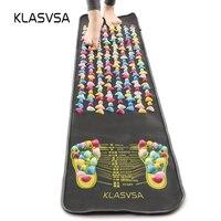 KLASVSA Leg Foot Massage Pad Pain Relief Stone Massager Mat Walk Muscle Stimulator Health Mattress Home Relaxation Health Care