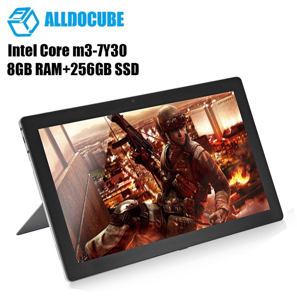 ALLDOCUBE KNote 8 Compresse Schermo 8 GB 256 GB 13.3 ''2 K Finestre 10 Intel Core M3-7Y30 Dual Core SSD 1.0 GHz 2 In 1 Tablet PC Tablet