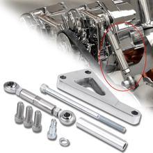 1 takım cilalı alüminyum alternatör braketi seti su pompası Lwp braketi seti Chevy SBC 350 PCE232.1002