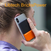 libtech brickspower Portable Charging Pool Mobile phone wireless charging mobile power supply paste portable treasure