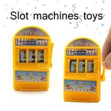 Brinquedo do bebê crianças Crianças Criativas Mini Slot Machine Crianças Casino Jackpot Sorte Alívio do Estresse Brinquedos Presente de Aniversário