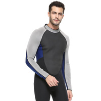 3mm Neopreno Wetsuit Men Surf One piece Diving Suit Snorkeling Aqualung Spearfishing Scuba Zipper Long Sleeved Wetsuits